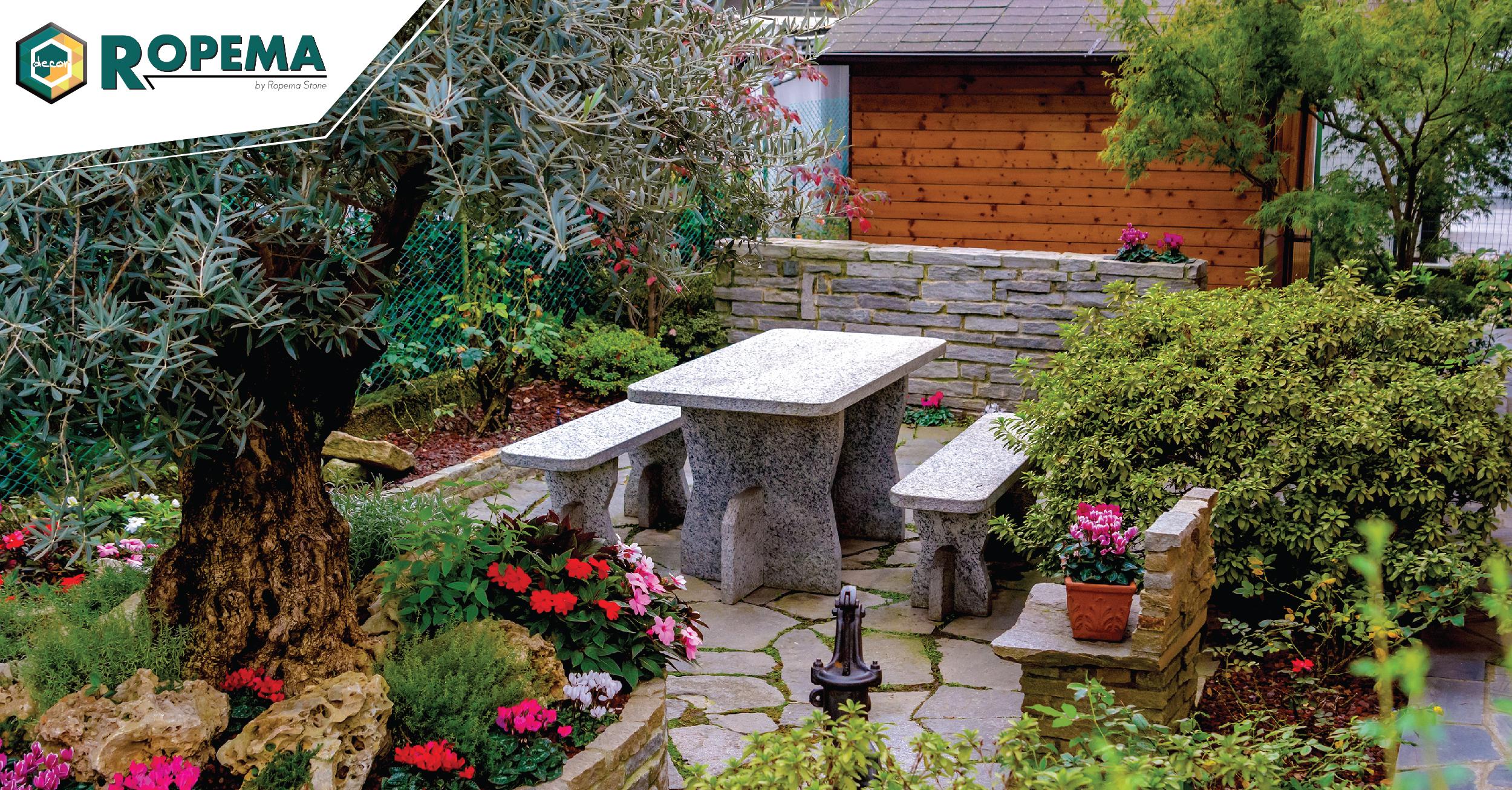 Cu l es el material m s aconsejado para tu jard n ropema - Material para jardin ...